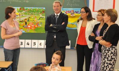 El Consejero de Educación inaugura el CP Infantil Natalio Rivas de Albuñol