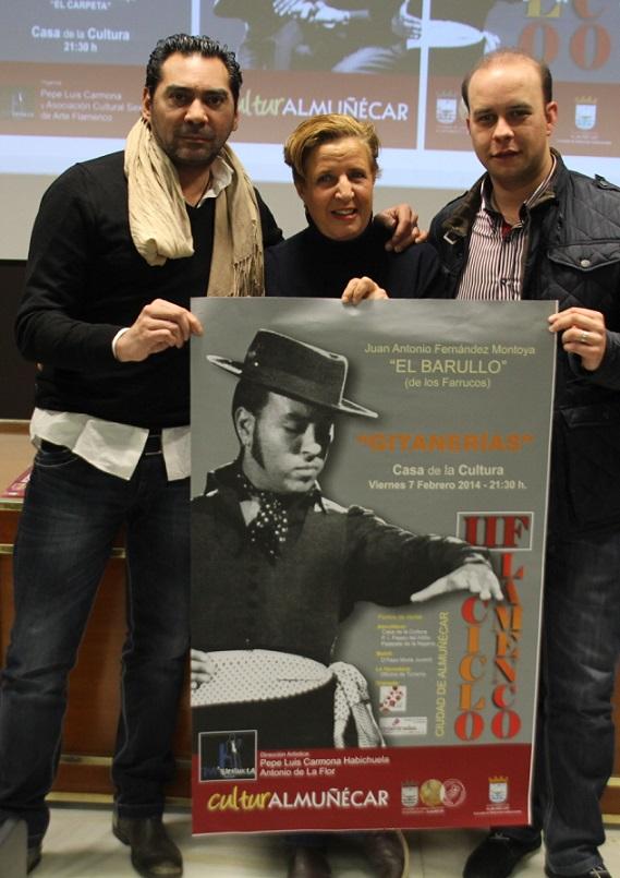 """60c5ea87 Este viernes arranca el II Ciclo Flamenco Ciudad de Almuñécar con la  actuación del bailaor El Barullo y su espectáculo """"Gitanerias"""""""