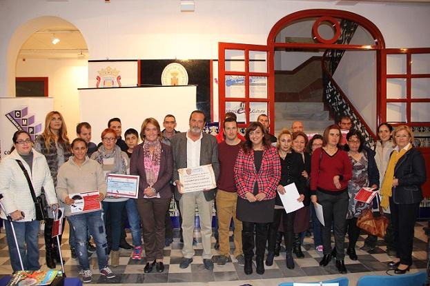 Motril entrega los premios del concurso de fotografía para personas con discapacidad