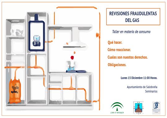 Consumo Salobreña ofrecerá charlas sobre fraudes en revisiones de gas y compañías telefónicas
