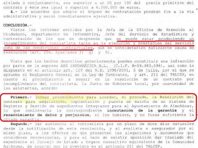 """El PA de Almuñécar dice que la Oficina de Atención al Ciudadano """"es un fraude"""""""