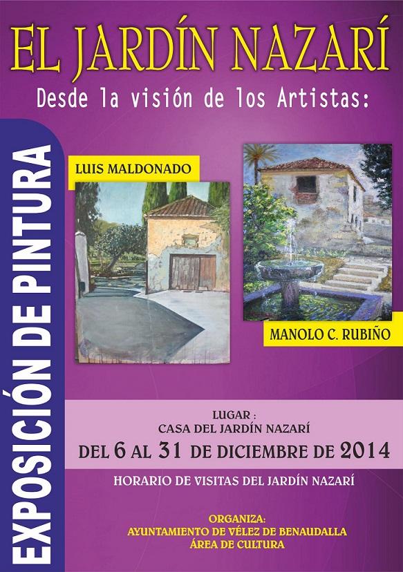 Exposición de pintura en la Casa del Jardín Nazarí de Vélez de Benaudalla
