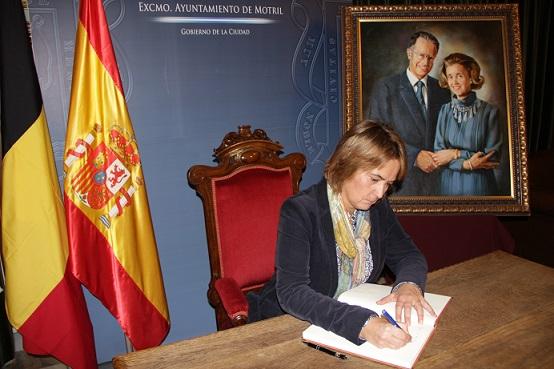 El Ayuntamiento pone a disposición de los vecinos un libro de condolencias por el fallecimiento de la reina Fabiola
