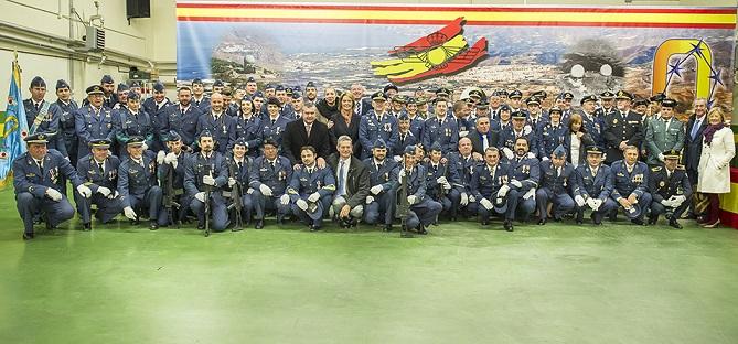 El EVA 9 celebra el día de la patrona del Ejército de Aire