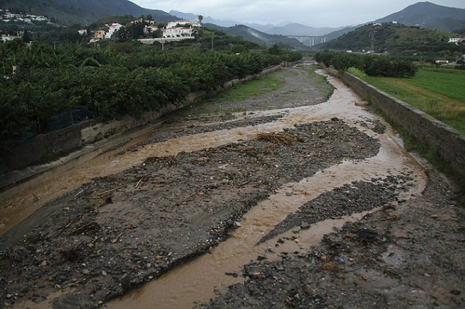 La lluvia acumulada en el municipio sexitano durante los tres últimos meses supera los 200 l/m2