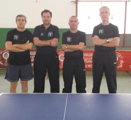 El CD Veteranos Tenis de Mesa Almuñécar Antiguo Mesón se clasifica para disputar el ascenso de categoría