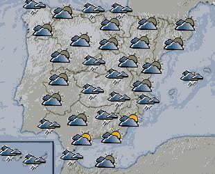 Frío y lluvia para este miércoles en la Costa de Granada