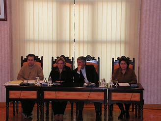 La oposición del Ayuntamieno de Salobreña abandona el pleno municipal. Jesús Avelino dice que la oposición \