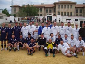 Veteranos del Malaga, Nerja y Motril triangular de fútbol en Nerja