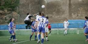 En fútbol juvenil, La peña del Real Madrid se impone al Motril CF por 3-1