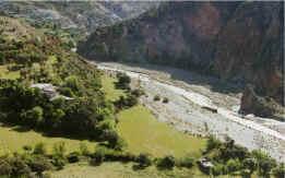 Según la investigadora de la UGR, la presa de Rules producirá una alteración en el caudal del río Guadalfeo