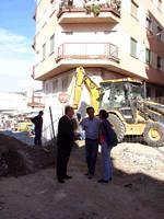 Las obras del barrio de Las Explanadas obligan a eliminar los aparcamientos en la calle Alférez García Villatoro y en la Avenida de la Habana a partir del día 7