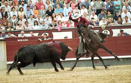 Seis orejas en la corrida de rejoneo celebrada en la plaza de toros de Motril