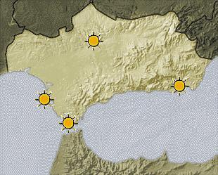 Este domingo ascenderá la temperatura en la costa de Granada