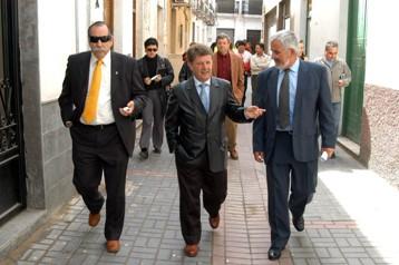 El presidente de la Diputación visita Sorvilán y Albuñol