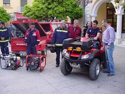 Nurevo vehículo para los bomberos de Almuñécar