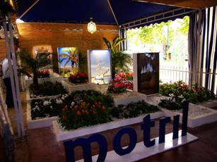 Los visitantes del Corpus destacan la caseta de Motril como una de las mejores del recinto ferial