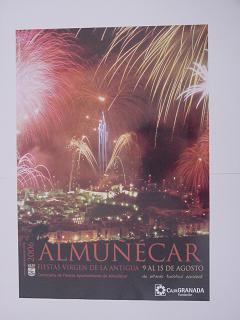 El día 9 de agosto se inician las fiestas populares de Almuñécar