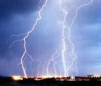Lluvias torrenciales y tormentas eléctricas en Andalucía Oriental