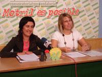Izquierda Unida denuncia la situación de los inmigrantes en Carchuna