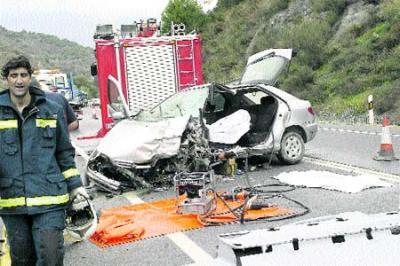 Un muerto y un herido grave en un accidente ocurrido en Vélez de Benaudalla