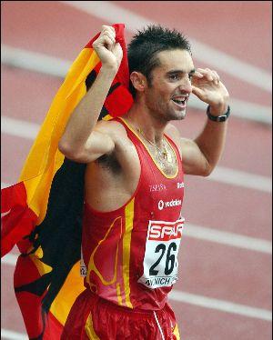 El atleta accitano Paquillo, subcampeón del mundo de marcha, entrenará durante un día a los escolares motrileños
