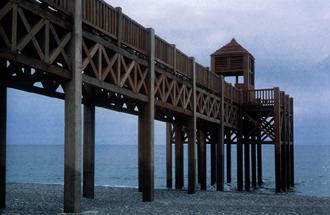 El proyecto del paseo marítimo de La Heradura en exposición pública