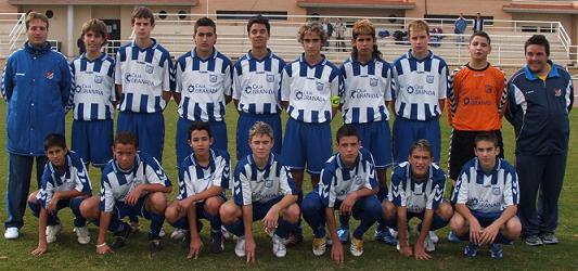 El Motril CT cadete vence 0-4 al Guadix CF