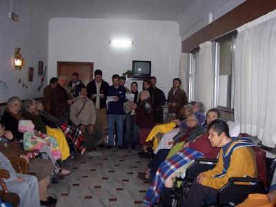 Se inicia la Campaña de la Solidaridad con visitas a las Residencias de San Luís, Santa Amelia y la Asociación Benéfico Social Virgen de la Cabeza