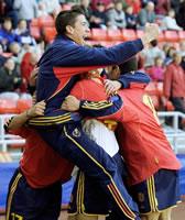 España vence a Suiza en el campeonato Sub-17 de fútbol que se celebra en Almuñécar