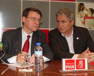 Jordi Sevilla respalda a Pedro Alvarez en Motril