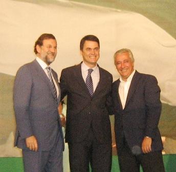 Mariano Rajoy apoya la candidatura de Carlos Rojas