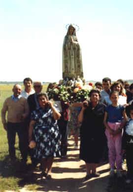 EL AYUNTAMIENTO DE ALMUÑECAR COLABORA CON LOS VECINOS DEL PAGO EL CERVAL QUE CELEBRAN ESTE DOMINGO LA ROMERIA DE LA VIRGEN DE FATIMA