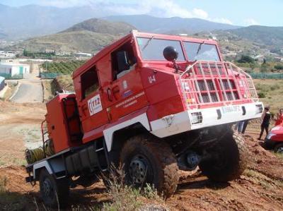 Los ocho nuevos bomberos de Motril prosiguen el curso práctico antes de incorporarse definitivamente a la plantilla