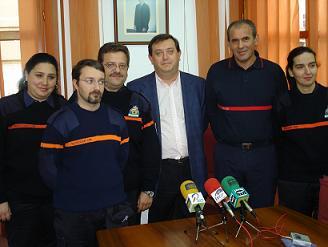 Más equipamiento para el cuerpo de voluntarios de Protección Civil de Motril