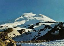 Almudena Carrasco componente de la expedición femenina al Monte Elbrus