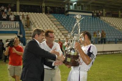 El Real Jaén se impone en el Trofeo 'Ciudad de Motril' al Motril CF por un gol conseguido de penalti