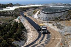 Diputación invierte 2,2 millones de euros en la vía de acceso a la Planta de Tratamiento de Residuos Agrícolas de Motril
