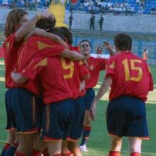 La selección española de fútbol sub-21 jugará el día 11 de septiembre en Almuñécar contra Georgia
