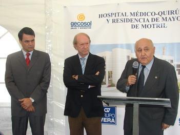 Motril contará en 2009 con un nuevo Hospital Médico Quirúrgico