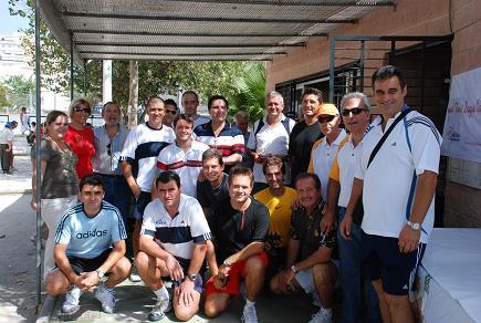 Andrés Vázquez se impone en la final del IV Open de Tenis Saque Volea de Motril