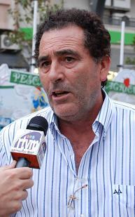 Antonio Escámez visita el Tren de la Costa