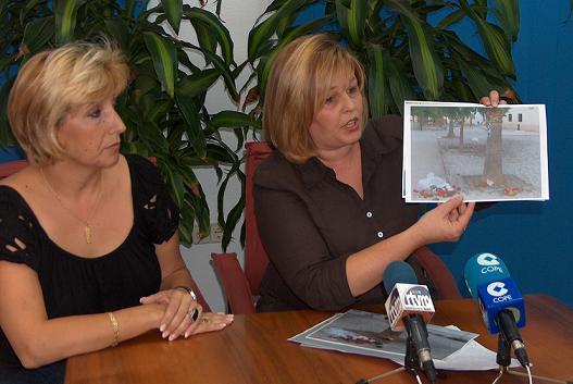 """La coalición del PA-PAI-CC exige que se limpie y adecente el """"único parque infantil de Carchuna"""