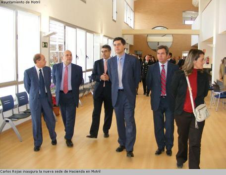 Carlos Rojas inaugura la nueva sede de Hacienda en Motril