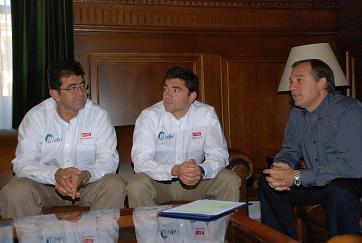 El piloto motrileño Miguel Puertas llevará el nombre de Motril durante todo el recorrido del Rally Dakar 2008
