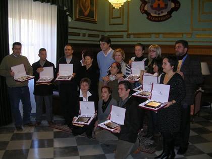 Carlos Rojas entrega los premios del I Certamen de Belenes Ciudad de Motril