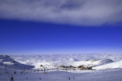 Sierra Nevada abrirá casi 7 kilómetros más de pista esquiable para el fin de semana