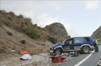 Muere atropellada una mujer en un accidente de tráfico en el Valle de Lecrín