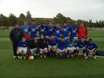 Los Juveniles de La Mojonera CF vencen al Juvenil Nacional del Oriente 2-1