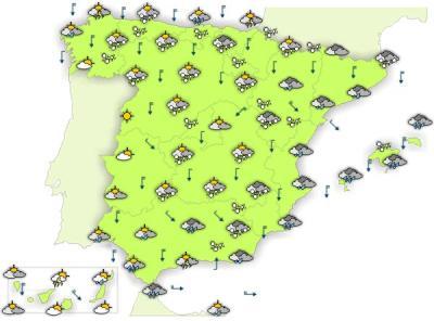 Para este jueves se esperan lluvias en la costa de Granada por la mañana y nieve en el resto de la provincia